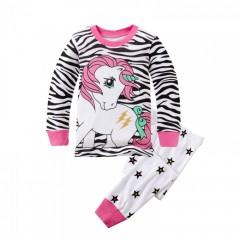 """Детская пижама для девочки из 2 предметов """"Волшебный единорог"""""""