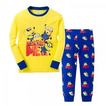 """Детская пижама для мальчика из 2 предметов """"Гадкий Я. Мои миньоны"""""""
