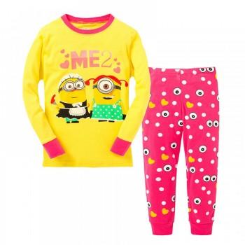 """Детская пижама для девочки из 2 предметов """"Гадкий Я. Милашки"""""""