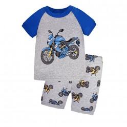 """Детская пижама для мальчика из 2 предметов """"Мощный байк"""""""