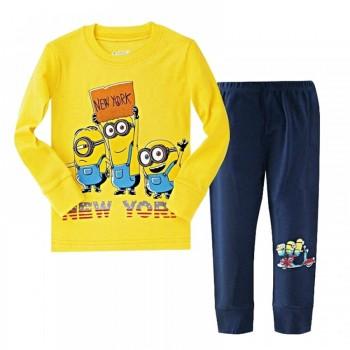 """Детская пижама для мальчика из 2 предметов """"Гадкий Я. Нью-Йорк"""""""