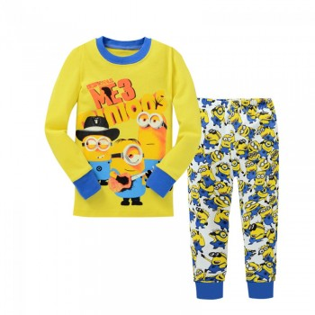 """Детская пижама для мальчика из 2 предметов """"Гадкий Я. Веселые миньоны"""""""