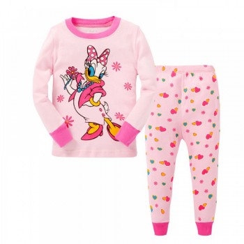 """Детская пижама для девочки из 2 предметов """"Дейзи Дак. Модница"""""""