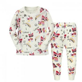 """Детская пижама для девочки из 2 предметов """"Конструктор Лего. Уникитти"""""""