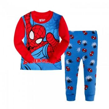 """Детская пижама для мальчика из 2 предметов """"Человек Паук. Паутина"""""""