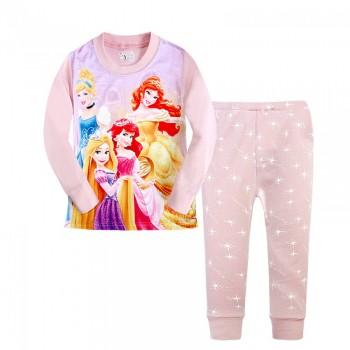 """Детская пижама для девочки из 2 предметов """"Клуб Принцесс. Волшебство красоты"""""""