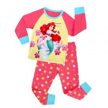 """Детская пижама для девочки из 2 предметов """"Русалочка. Принцесса Ариель"""""""