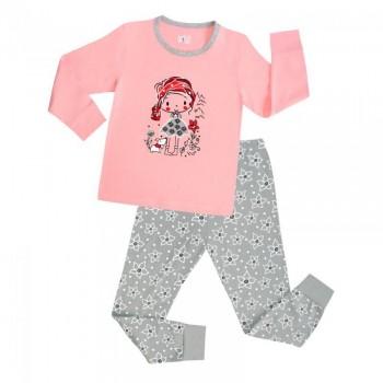 """Детская пижама для девочки из 2 предметов """"Маленькая красотка"""""""