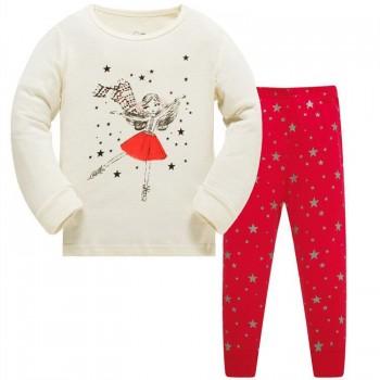 """Детская пижама для девочки из 2 предметов """"Звездная жизнь"""""""