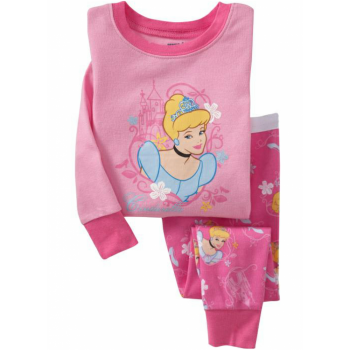 """Детская пижама для девочки из 2 предметов """"Золушка. Юная принцесса"""""""