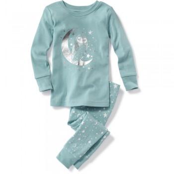 """Детская пижама для девочки из 2 предметов """"Ночная сова"""""""