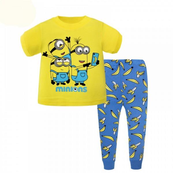 """Детская пижама для детей из 2 предметов """"Миньоны. Забавные миньоны"""""""