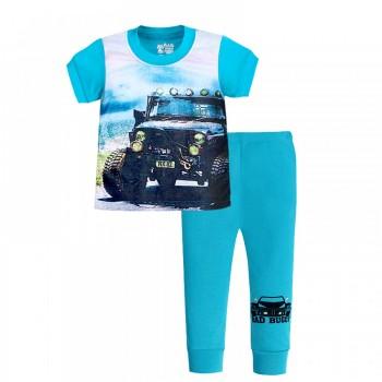 """Детская пижама для мальчика из 2 предметов """"Мощный внедорожник"""""""