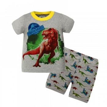 """Детская пижама для мальчика из 2 предметов """"Парк юрского периода. Свирепый Рекс"""""""