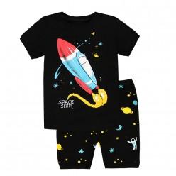 """Детская пижама для мальчика из 2 предметов """"Космическая ракета"""""""