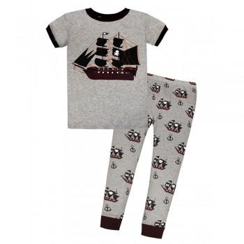 """Детская пижама для мальчика из 2 предметов """"Пиратский корабль"""""""