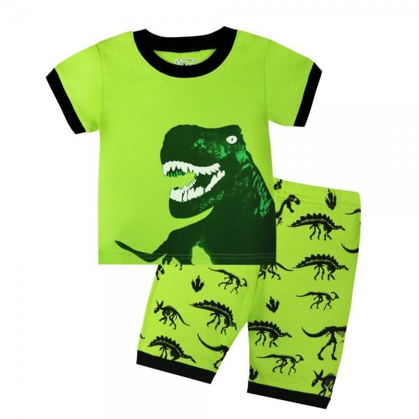 """Детская пижама для мальчика из 2 предметов """"Динозавр убийца"""""""