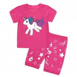 """Детская пижама для девочки из 2 предметов """"Кроха единорог"""""""