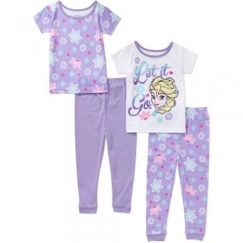 """Детская пижама для девочки из 4 предметов """"Холодное сердце. Прекрасная Эльза"""""""