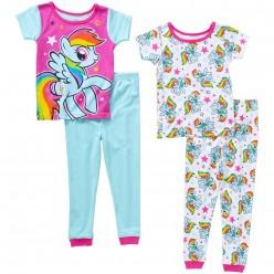 """Детская пижама для девочки из 4 предметов """"Мой маленький пони. Знакомство"""""""