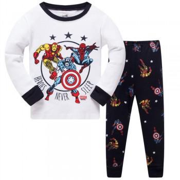 """Детская пижама для мальчика из 2 предметов """"Лига Справедливости. Супер герои не спят"""""""