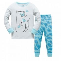 """Детская пижама для детей из 2 предметов """"Котя и бабочки"""""""