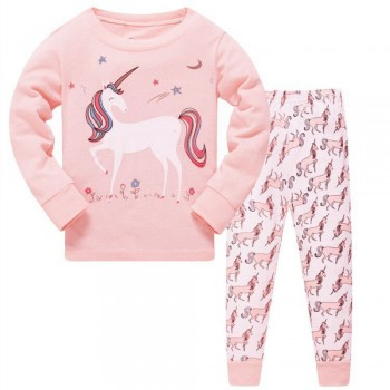 """Детская пижама для девочки из 2 предметов """"Волшебный единорог - 2"""""""