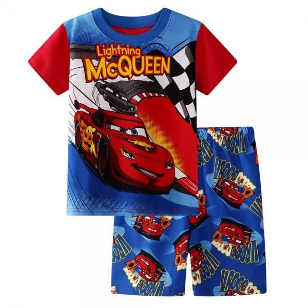 """Детская пижама для мальчика из 2 предметов """"Тачки. Супер трек - 2"""""""