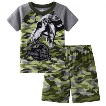 """Детская пижама для мальчика из 2 предметов """"Парк юрского периода. Зверь"""""""