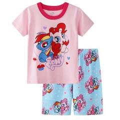 """Детская пижама для девочки из 2 предметов """"Мой маленький пони. Подружки"""""""