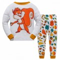 """Детская пижама для детей из 2 предметов """"Белочка"""""""