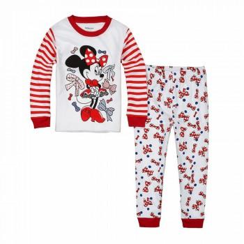 """Детская пижама для девочки из 2 предметов """"Минни Маус. Любимые бантики"""""""