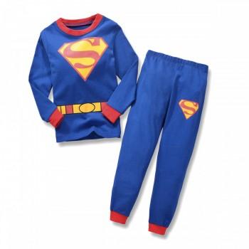 """Детская пижама для мальчика из 2 предметов """"Супермен. Боевой костюм"""""""