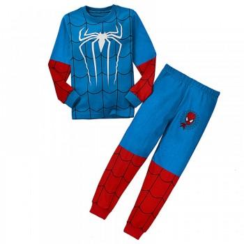"""Детская пижама для мальчика из 2 предметов """"Человек паук. Боевой костюм"""""""