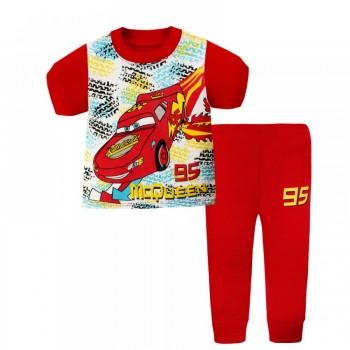 """Детская пижама для мальчика из 2 предметов """"Тачки. МакКуин метеор"""""""