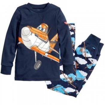 """Детская пижама для мальчика из 2 предметов """"Самолеты. Герои в небе"""""""