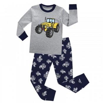 """Детская пижама для мальчика из 2 предметов """"Надежный трактор"""""""