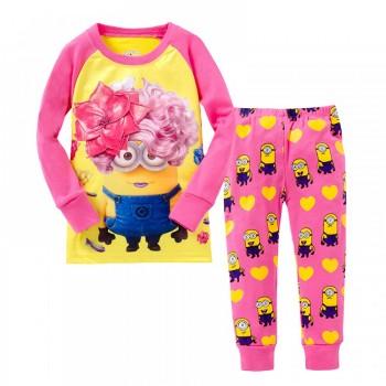 """Детская пижама для девочки из 2 предметов """"Гадкий Я. Красотка"""""""