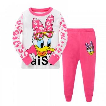 """Детская пижама для девочки из 2 предметов """"Дейзи Дак. Большое любопытство - 2"""""""