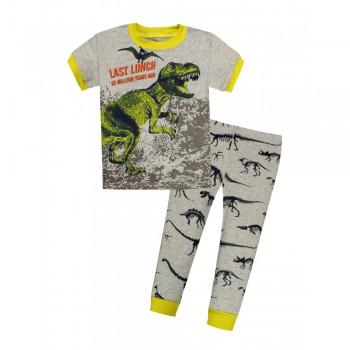 """Детская пижама для мальчика из 2 предметов """"Тираннозавр Рекс"""""""