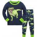 """Детская пижама для мальчика из 2 предметов """"Хищный динозавр"""""""