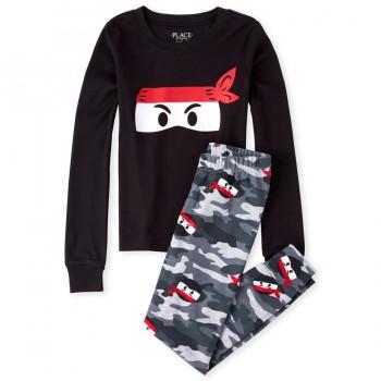 """Детская пижама для мальчика из 2 предметов """"Ниндзя"""""""