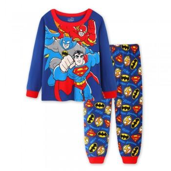 """Детская пижама для мальчика из 2 предметов """"Лига Справедливости. Супер трио"""""""
