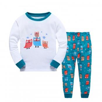 """Детская пижама для детей из 2 предметов """"Маленькие совята"""""""