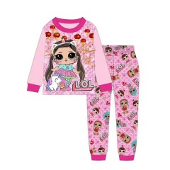 """Детская пижама для девочки из 2 предметов """"Куклы Лол. Любимый единорог"""""""