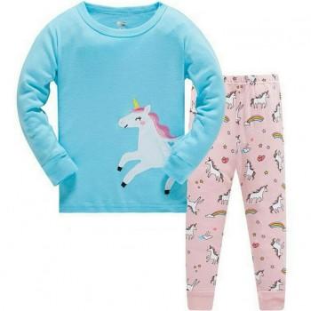 """Детская пижама для девочки из 2 предметов """"Любимый единорог"""""""