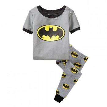 """Детская пижама для мальчика из 2 предметов """"Бэтмен. Знак Бэтмена - 3"""""""