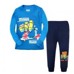 """Детская пижама для мальчика из 2 предметов """"Гадкий Я. Миньономания"""""""