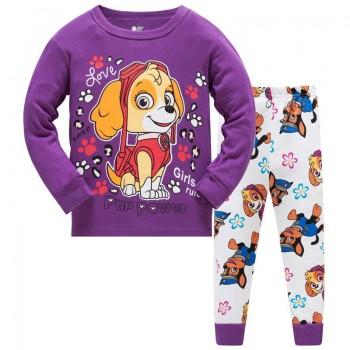 """Дитяча піжама для дівчинки з 2 предметів """"Щенячий патруль. Красуня Скай"""""""