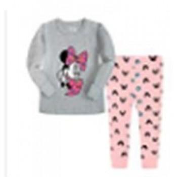 """Детская пижама для девочки из 2 предметов """"Минни Маус. Подружка"""""""
